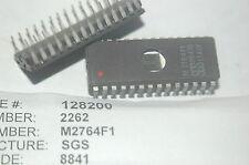 SGS M2764F1 64K Eprom 28-Pin Dip Vintage Ceramic IC Lot Quantity-2