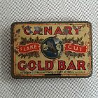 rare Canary Gold Bar Tobacco Tin Melbourne Australia