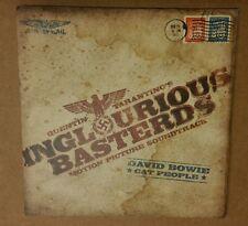 VHTF RARE Quentin Tarantino's Inglourious Basterds VINYL 45 RECORD David Bowie