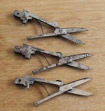 3 anciens ciseaux pour couteau pliant de poche Multi fonctions
