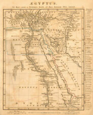 ANCIENT EGYPT. Aegyptus Thebais Arcadia Heptanomis. ARROWSMITH 1828 old map