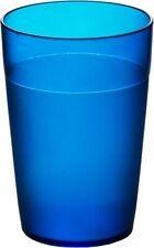 Set of Roltex Unbreakable Reusable Polycarbonate Plastic Kids Tumblers Blue
