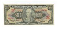 500 Cruzeiro Brasilien 1960 C103 / P.164d - Brazil Banknote