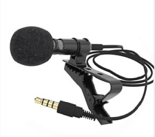 FingerLakes Professional Lavalier Lapel Microphone Youtube Podcast Webinar Skype