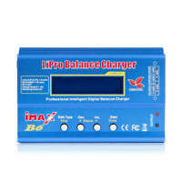 1X(Imax B6 12V Akku Ladegerät 80W Lipro Balance Lade Nimh Li-Ion Ni-Cd Digi X3U5