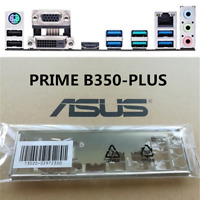 1PCS BACKPLATE IO I/O SHIELD FOR ASUS PRIME B350-PLUS MOTHERBOARD