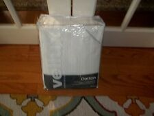 NIP West Point Home Vellux White 100% Natural Cotton King Blanket