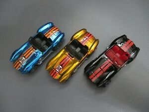 HOT WHEELS SET OF 2 CLASSIC SERIES SHELBY COBRA & 2019 BLACK NO BLISTER LOOSE
