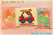 🚗 Vintage SANRIO LITTLE TWIN STARS MY MELODY HELLO KITTY 1976 Adesivi Stickers
