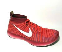 Nike Free Train Force Flyknit USA Mens Shoes 10.5 Bright Crimson Red 833275-616