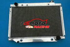 5 ROW Aluminum Radiator For Landcruiser FJ80R FZJ80R 4.5 1FZFE LEXUS LX450 90-98