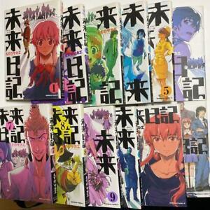 Mirai Nikki Future Diary comic 1-12 vol complete set Manga Anime Japan