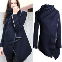 Women Slim Winter Warm Trench Coat Long Wool Jacket Outwear Parka Cardigans Tops