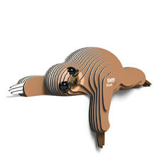 EUGY - 3d Biodegradable Cardboard Model Build Your Own Pet Sloth Age 6