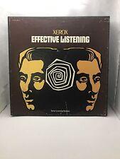 Vintage XEROX Effective Listening 3 LP Vinyl 1970 Colombia Record - Mint