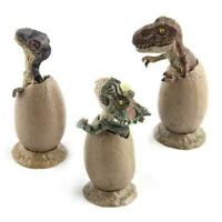 3pcs Park Dinosaur Egg Toy Baby Action Figure Gift Hot W0L9