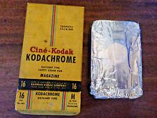 Vintage 16mm Cine-Kodak Kodachrome Magazine Movie Film 382++Exp 1949 - UNUSED