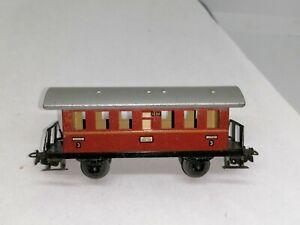 Märklin 327/2 Donnerbüchse Personenwagen 3.Klasse braunrot Ci 18t 50er Jahre