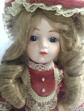 Vintage Bradley Doll *Francesca* Wind Up Musical Tune *Yesterday* includes stand