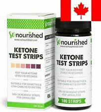 Urine Ketone Strips - Suitable for Diabetics and Low Carb Dieters - Ketosis S...