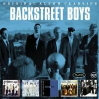BACKSTREET BOYS - ORIGINAL ALBUM CLASSICS 5 CD NEW!