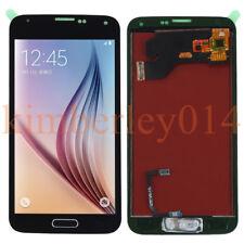 Für Samsung Galaxy S5 SM-G900F LCD Display Touchscreen Schwarz+Button Assembly