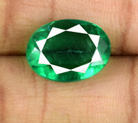 Muzo Colombian Emerald Gemstone Oval 7-9 Ct Natural Untreated AGI Certified