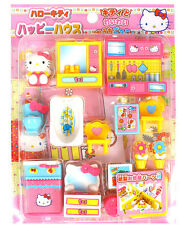 Hello Kitty House Miniature Toy Play Set Role Play Doll Furniture kitchen /