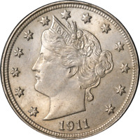 1911 Liberty V Nickel Great Deals From The Executive Coin Company