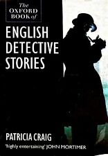 The Oxford Book of English Detective Stories ed Patricia Craig ex-libr paperback