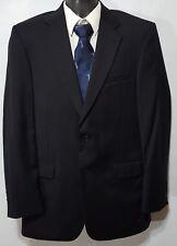 Jos A Bank (40L) Men Charcoal Two Button 100% WOOL Blazer Sportcoat Suit Jacket