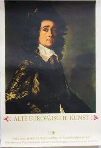 Poster Plakat - Alte Europäische Kunst - Nationalgalerie in Prag