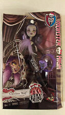 Monster High Freak Du Chic Clawdeen Wolf Daughter of the Werewolf NIB NRFB