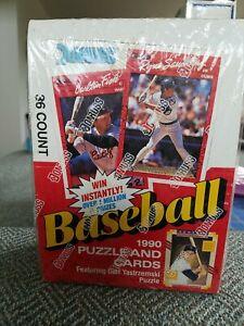 1990 Baseball Cards DONRUSS Wax Box unopened 36 packs!