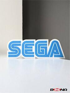 Decorative SEGA self standing logo display