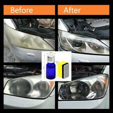 Headlight Headlamp Cleaning Restoration Plastic Polish Restorer Kit DIY 2017