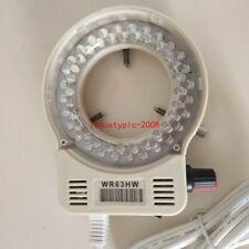 56 Led White Led Ring Light Illuminator For Nikon Olympus Meiji Emz Microscope