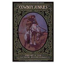 COWBOY JUNKIES Fox Theatre 2006 Rare Original CONCERT POSTER collectible