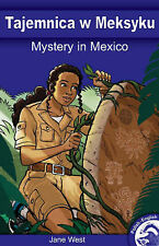 Mystery in Mexico (Full Flight English / Polish Dual Language Books)-ExLibrary