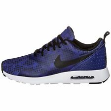 sale retailer 29f5f 3ca9f NIKE Air Max Tavas Print 742781 400 Deep Royal Blue Black White eur43 uk8