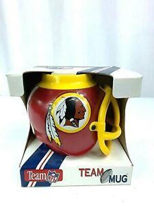 Team Mug  NFL Washington Redskins Football Helmet Mug 1992 in Box