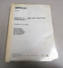 Caterpillar Cat D5M PS XY LGP Tractors Parts Catalog Manual 1996 SEB2497