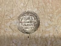 UMAYYAD: Al-Walid I, AR Dirham SILVER , Surraq 800 AD