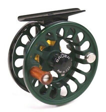 Bauer RX Fly Reel Dark Green - ALL SIZES - FREE FLY LINE - FREE FAST SHIPPING