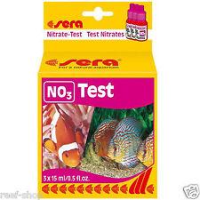Sera Nitrate NO3 Test Kit for Fresh & Saltwater Aquariums & Ponds FREE USA SHIP!