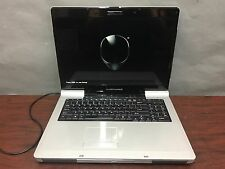 "Silver Alienware mM9700 17"" Gaming Laptop AMD Turion 2ghz 2gb 120gb - Complete"