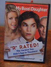 "My Boss's Daughter (DVD, 2004, ""R"" Rated Edition) Ashton Kutcher, Tara Reed"