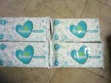 4 X 18 Wipe Pampers Sensitive Resealable Baby Wipe #1 Choice of Us Hospitals