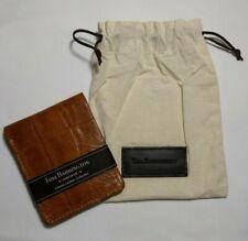 Tom Barrington Bifold Leather Wallet Tan Hand Made