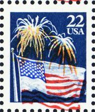 2276, MNH 22¢ Fireworks With Large Red Color Shift Great EFO - Stuart Katz